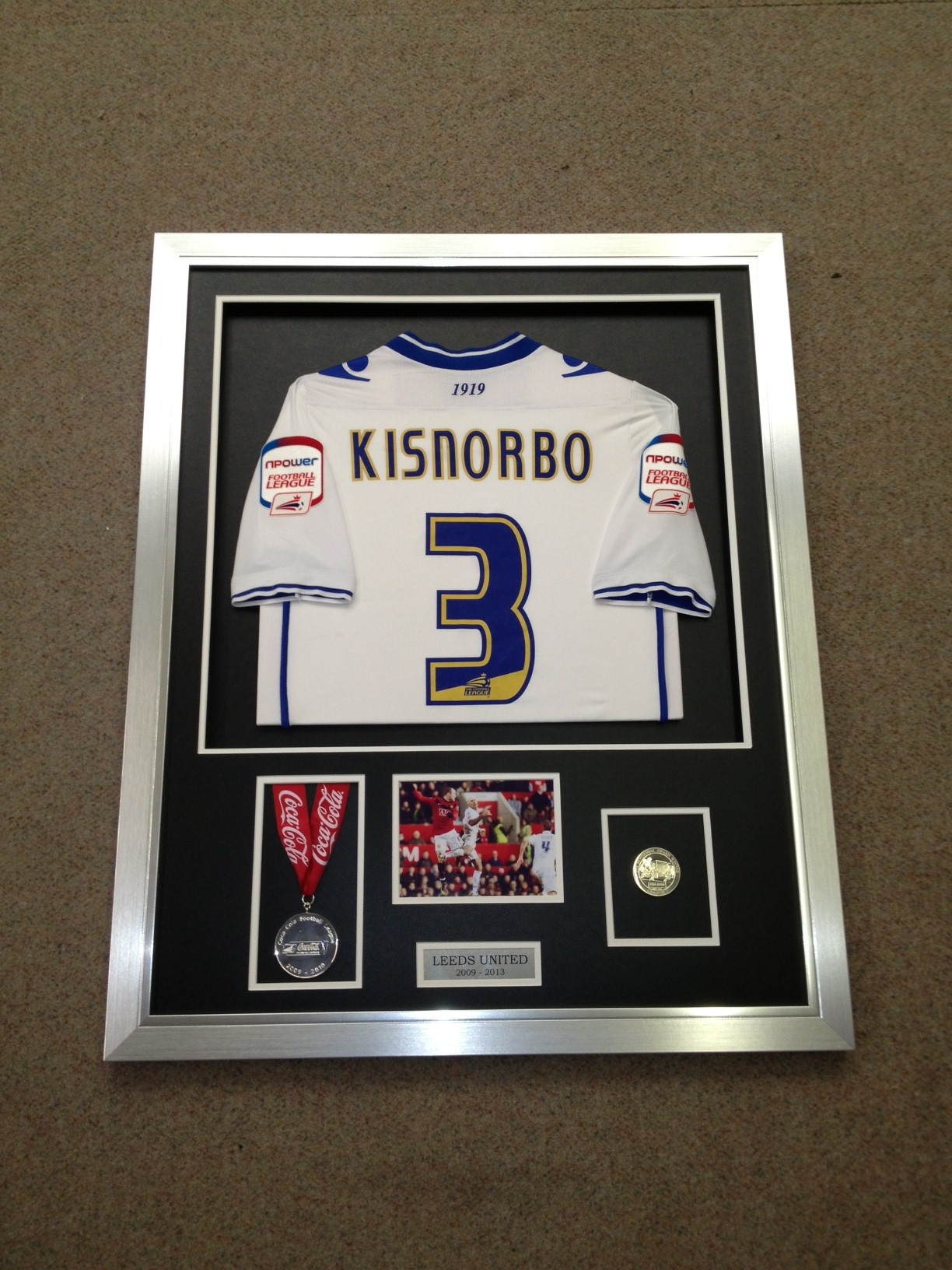 kisnorbo framed shirt