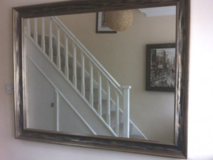 Framed Large Mirror