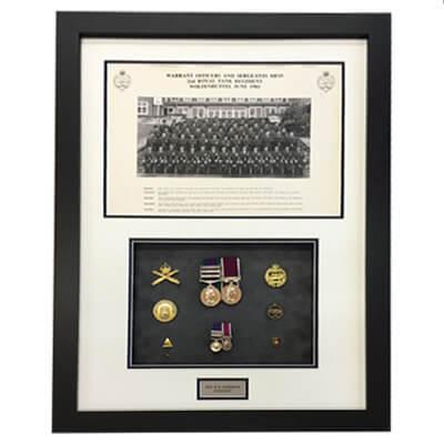 war medal framer leeds