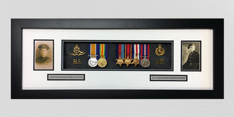 military medal framing leeds