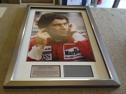 Senna Framed Memorabilia
