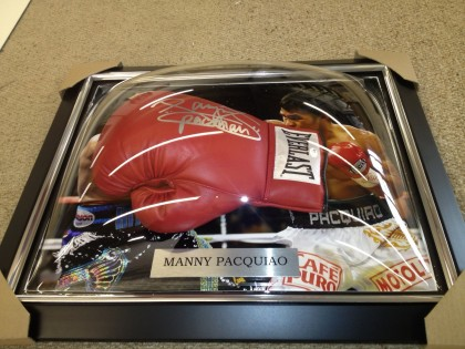 Framed Boxing Glove
