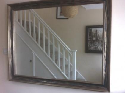 Framed Large Mirror